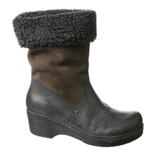 OTBT Women's Belleville Charcoal Leather/Fabric