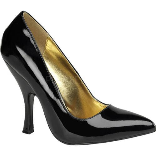 Pin Up Women's Bombshell 01 Black Patent Leather