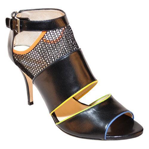 Women's Takera Shoes Milan Black Kidskin Leather