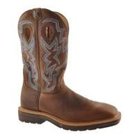 Men's Twisted X Boots MLCW003 Brown Pebble/Brown Pebble Leather
