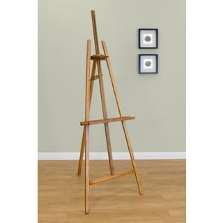 Studio Designs Natural Museum Easel II with Adjustable Height and Angle