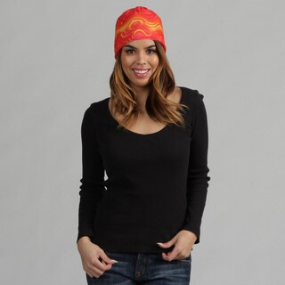 O3 Red Oil 'Rag Tops' Convertible Headwear