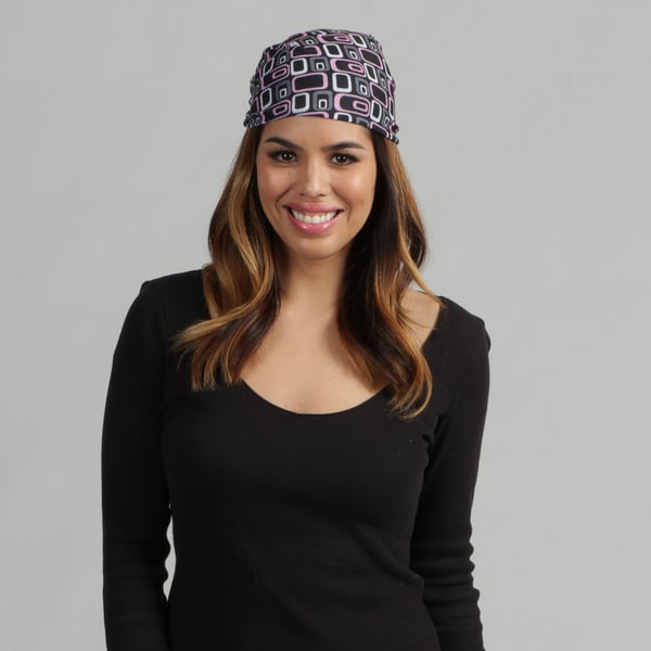 O3 Black Squares 'Rag Tops' Convertible Headwear