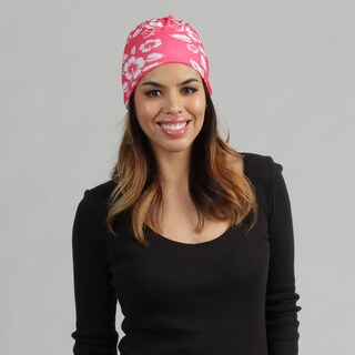 O3 Hawaii Strawberry 'Rag Tops' Convertible Headwear