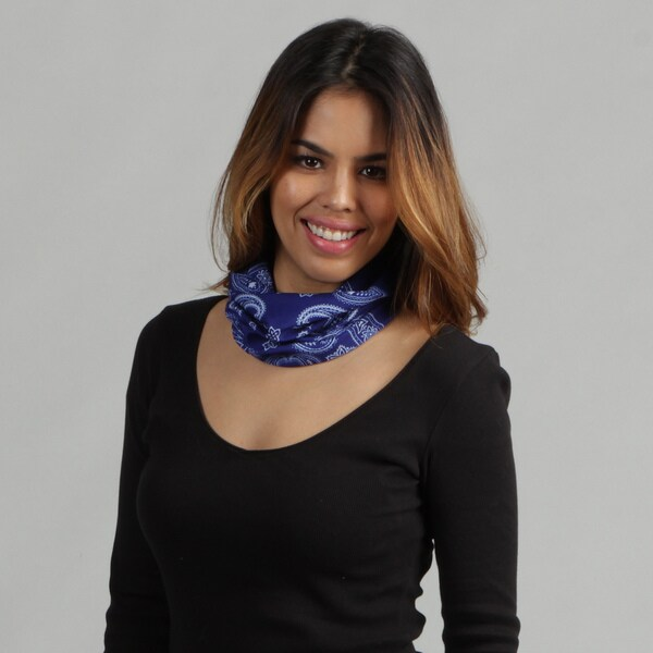 O3 Adult Rag Tops Bandana Blue Convertible Headwear