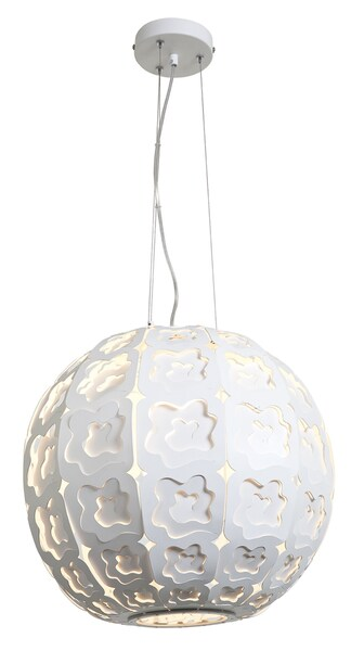 Access Lacey 1-light Chrome Ball Pendant