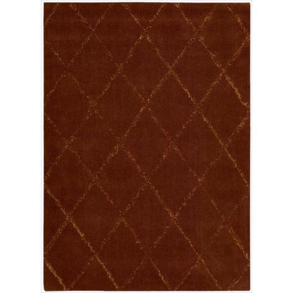 Joseph Abboud Monterey Rust Area Rug by Nourison (5'3 x 7'4)