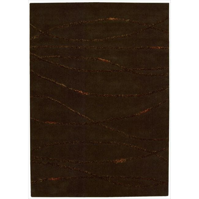Joseph Abboud Monterey Brown Area Rug by Nourison (3'6 x 5'6)
