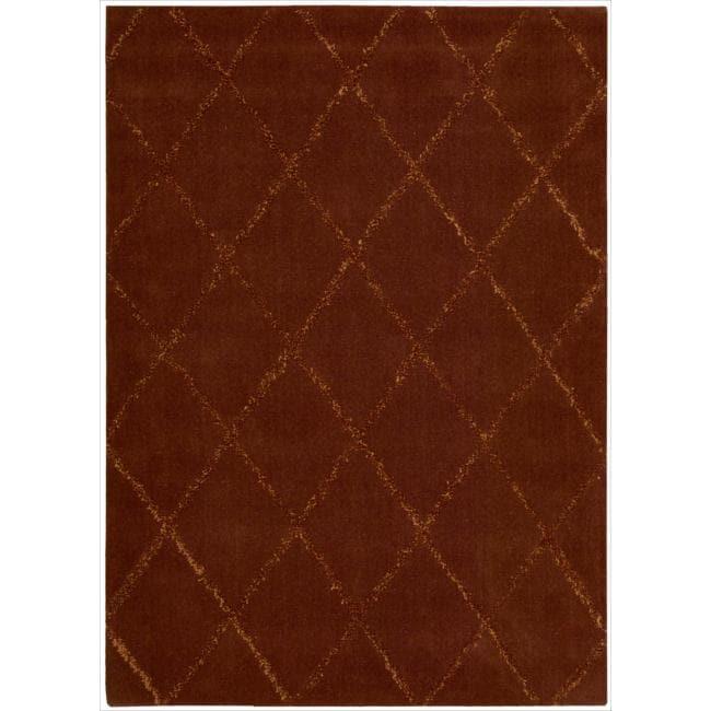 Joseph Abboud Monterey Rust Area Rug by Nourison (3'6 x 5'6)