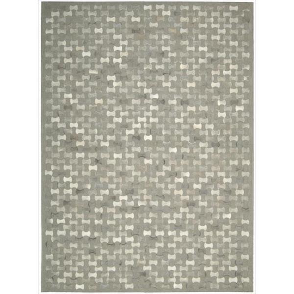 Joseph Abboud Chicago Grey Area Rug by Nourison (8' x 11')