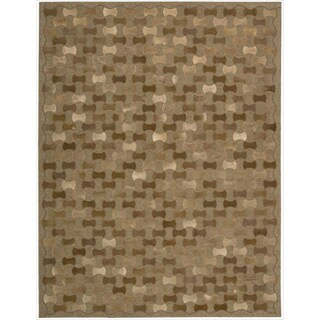 Joseph Abboud Chicago Brown Area Rug by Nourison (8' x 11')