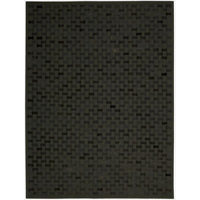 Joseph Abboud Chicago Black Area Rug by Nourison (8' x 11')