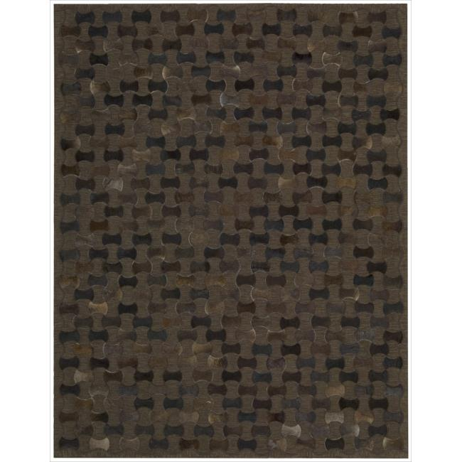 Joseph Abboud Chicago Chocolate Area Rug by Nourison (5'3 x 7'5)
