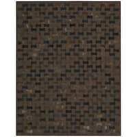"""Joseph Abboud Chicago Chocolate Area Rug by Nourison - 3'6"""" x 5'6"""""""