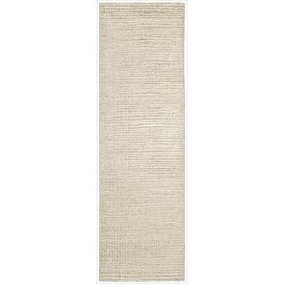 Nourison Fantasia Snow Shag Area Rug (2'3 x 8')