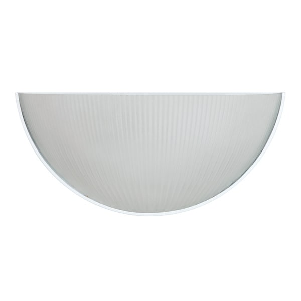 1-light White Wall Sconce