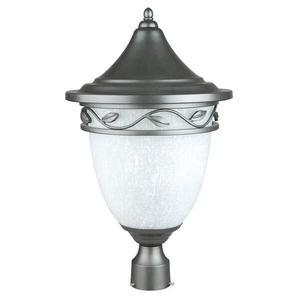 1-light Natural Iron Large Post Lantern