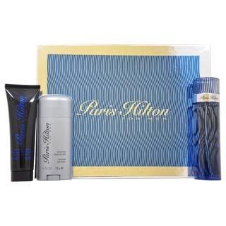 Paris Hilton Men's 3-piece Fragrance Gift Set https://ak1.ostkcdn.com/images/products/7194406/P14681182.jpg?impolicy=medium