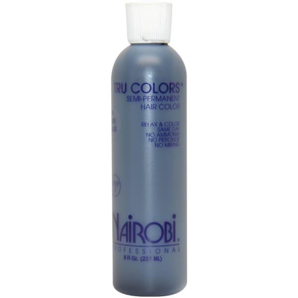 Nairobi Tru-Colors Semi-Permanent #1 Pure Black 8-ounce Hair Color