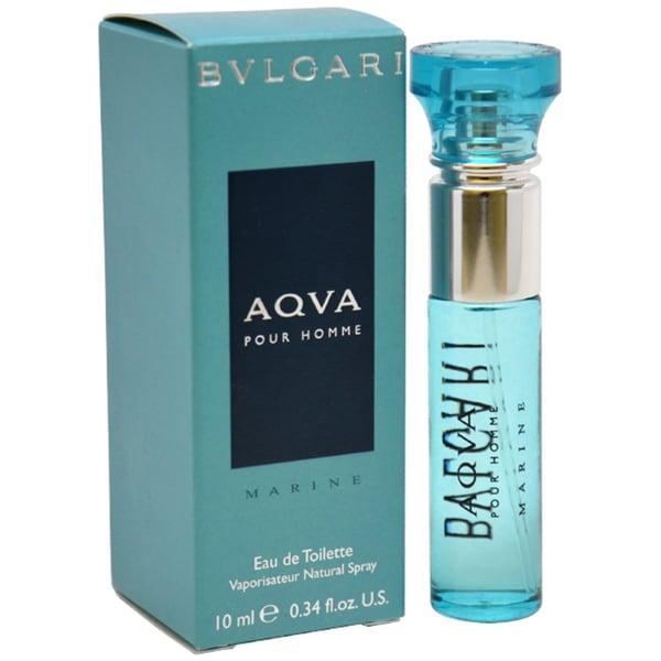 Bvlgari Aqua Marine Men's 0.34-ounce Eau de Toilette Spray