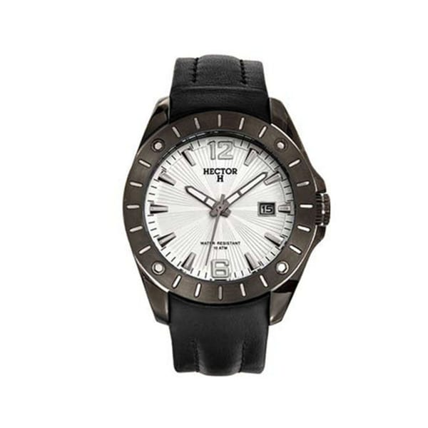 Shop Hector H France Men's PVD Stainless Steel Leather ...