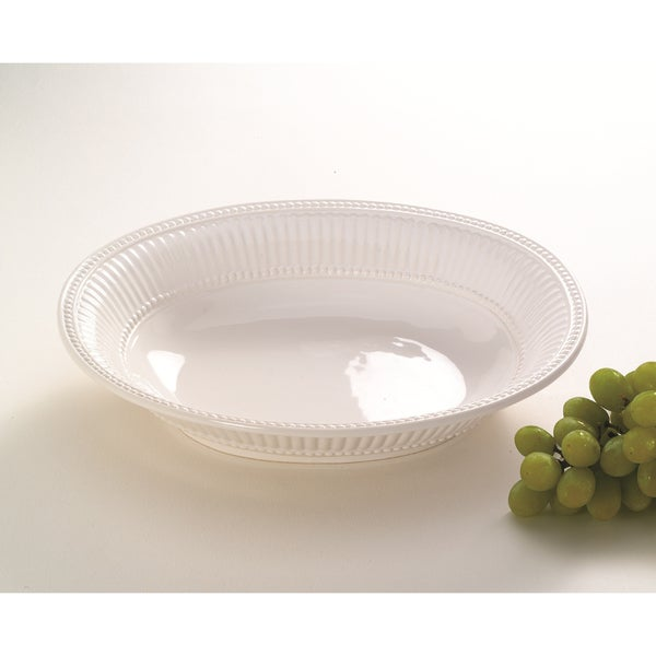 Classic Italian 15-inch Oval Serving Bowl