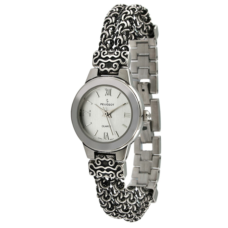 Peugeot Women's Antique Silvertone Chain Watch https://ak1.ostkcdn.com/images/products/7194544/80/575/Peugeot-Womens-Antique-Silvertone-Chain-Watch-P14681291.jpg?impolicy=medium