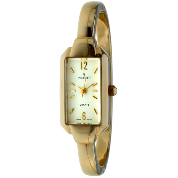 Peugeot Women's Vintage Goldtone Bangle Watch
