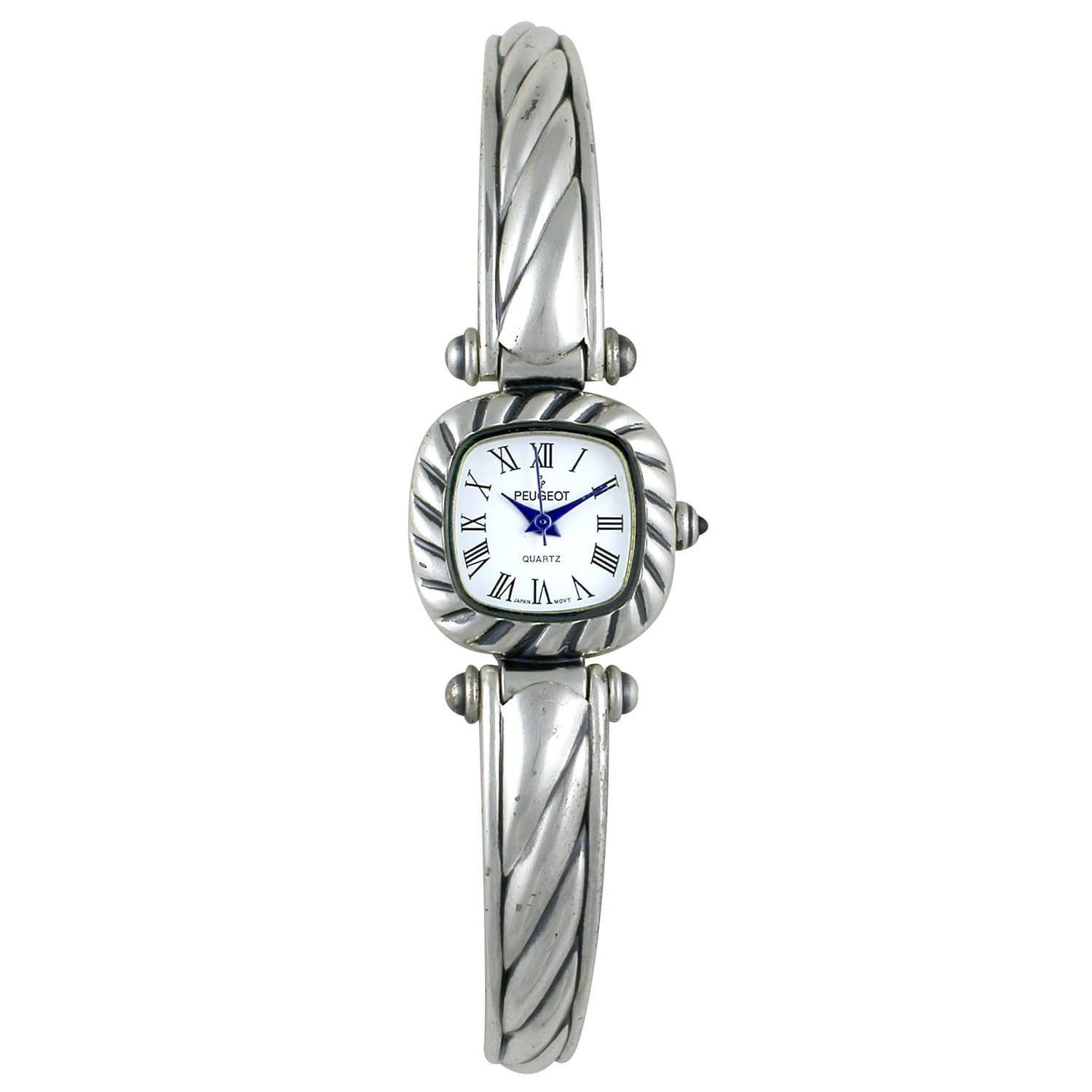 Peugeot Women's Antique Pewter Cuff Watch