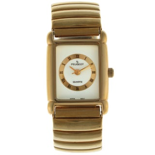 Peugeot Women's Goldtone Stainless Steel Expansion Watch