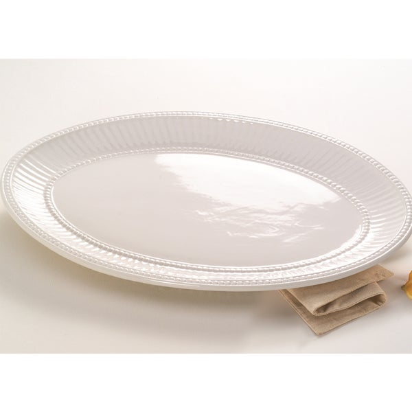 Classic Italian 18-inch Oval Serving Platter