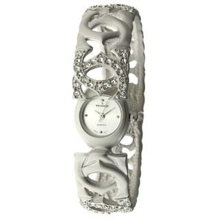 Peugeot Women's Antique Silver Matte Bangle Watch
