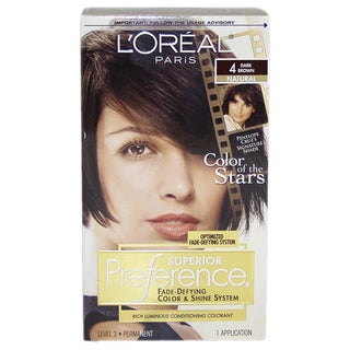 L'Oreal Superior Preference Natural #4 Dark Brown Hair Color