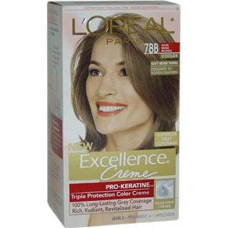 L'Oreal Excellence Creme Pro Keratine #7BB Dark Beige Blonde Hair Color
