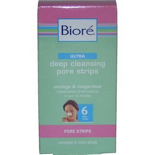 Biore Ultra Deep Cleansing 6-piece Pore Strips