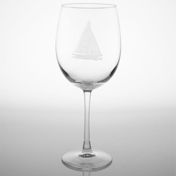 Rolf Glass Sailboat All-purpose Large 19-ounce Wine Glasses (Set of 4)