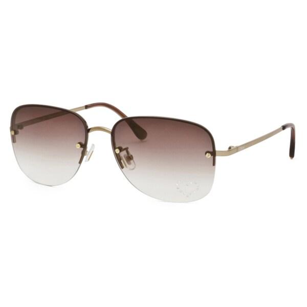 Chloe Women's Light Gold Fashion Sunglasses Eyewear