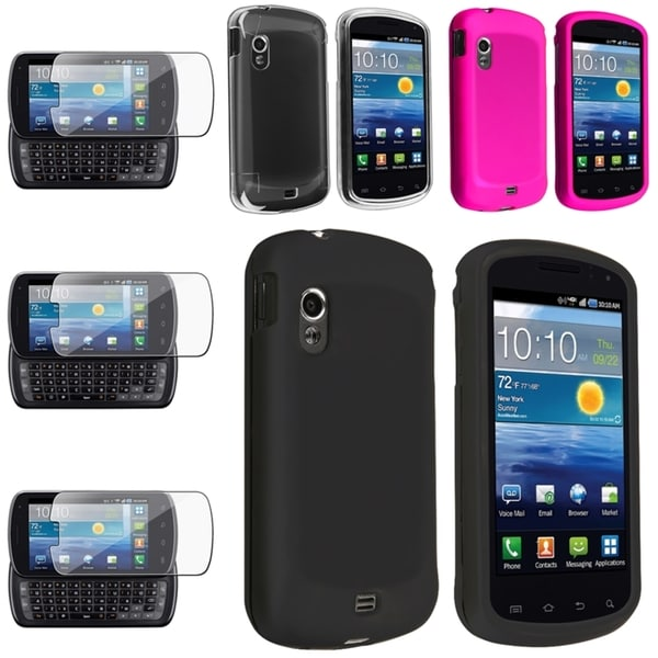 BasAcc Crystal/ Rubber Case/ Protector for Samsung© Stratosphere i405