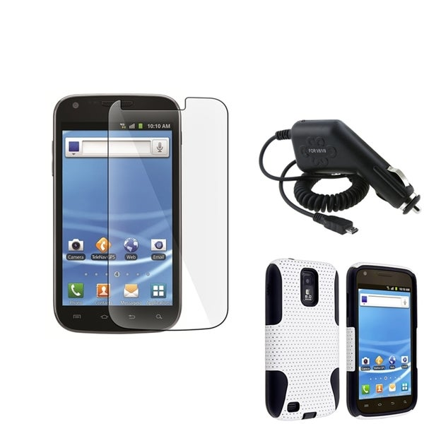BasAcc Hybrid Case/Screen Protector/Charger for Samsung© Galaxy S2 T989