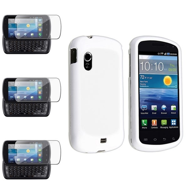 BasAcc White Case/ Screen Protector for Samsung© Stratosphere i405