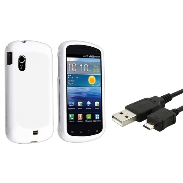 BasAcc Rubber Case/ USB Data Cable for Samsung Stratosphere i405