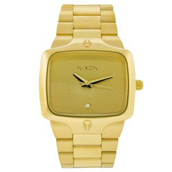 Nixon Men's Gold-Tone Player Watch