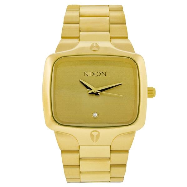 Nixon Men's Gold-Tone Player Watch
