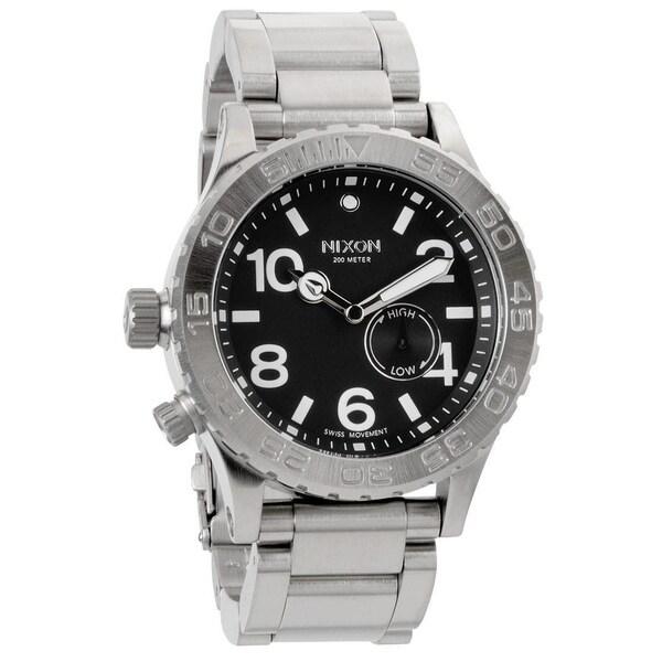 Nixon Men's 42-20 Black Tide Watch