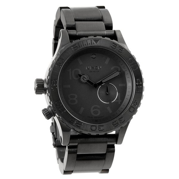 Nixon Men's 42-20 Black Tide Watch