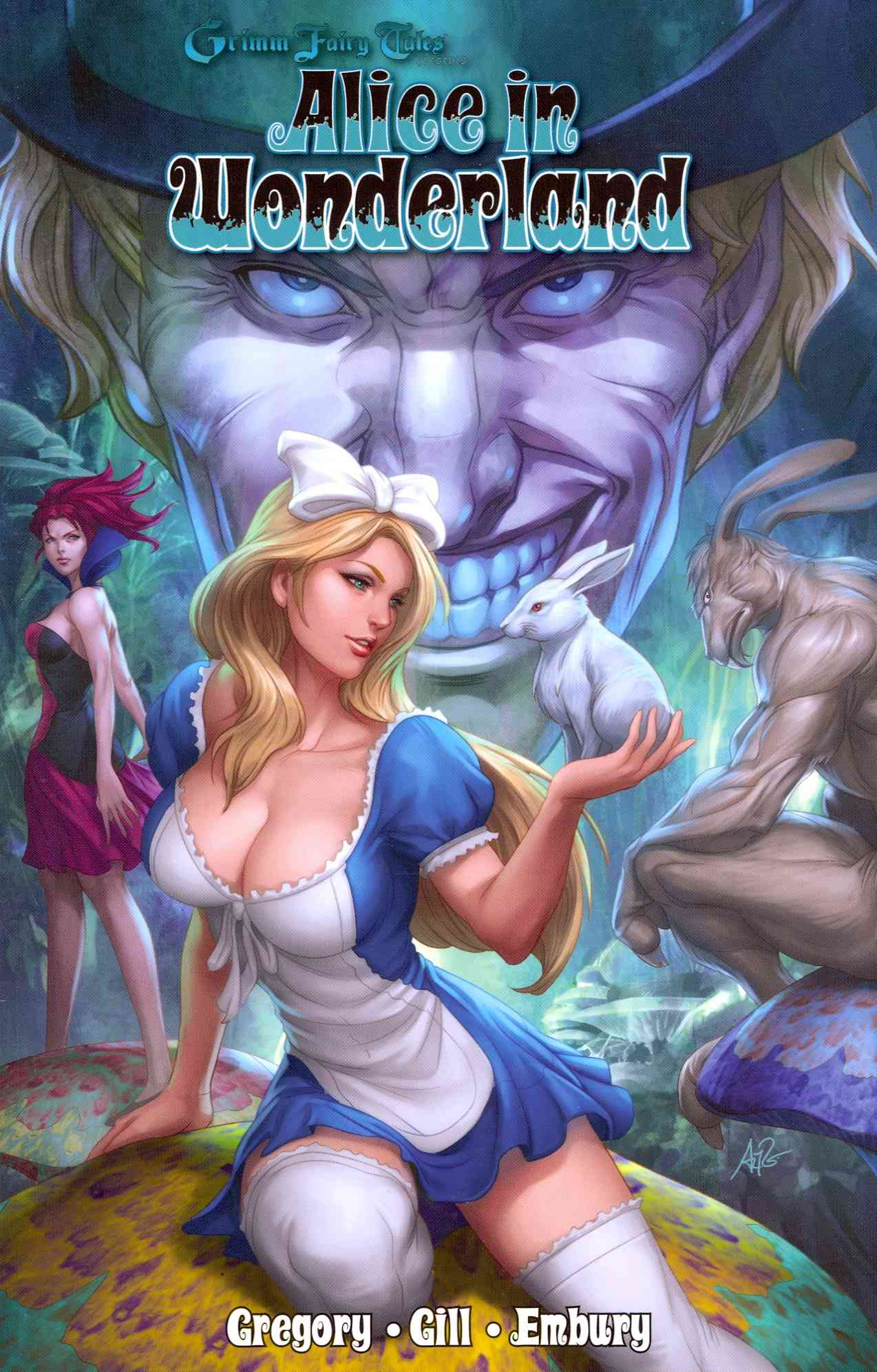Grimm Fairy Tales Presents Alice in Wonderland (Paperback)