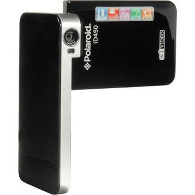 Polaroid ID450 Wi-Fi Black Digital Video Recorder