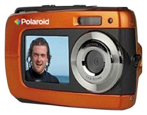 Polaroid IF046 14.1MP Waterproof Orange Digital Camera - Thumbnail 0