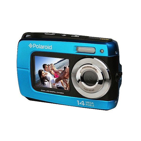 Polaroid IF046 14.1MP Waterproof Blue Digital Camera