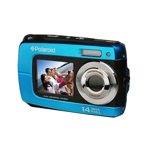 Polaroid IF046 14.1MP Waterproof Blue Digital Camera - Thumbnail 0